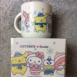 Hello Kitty Winter Character Mug